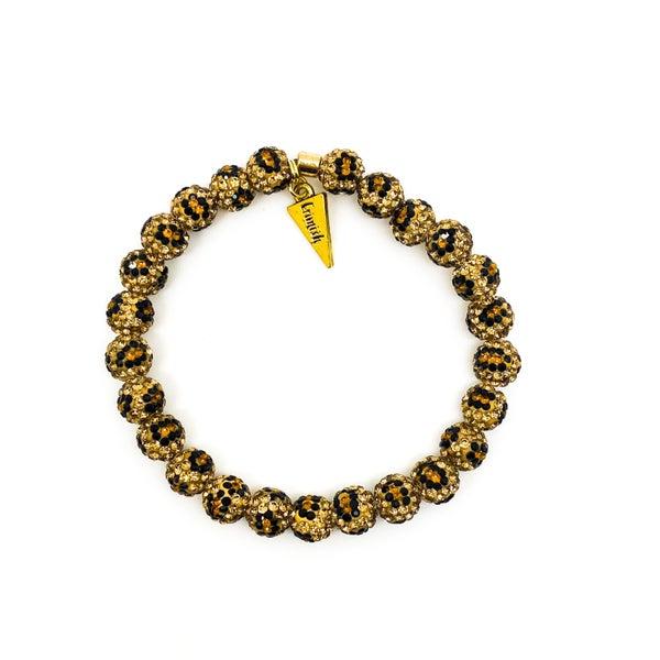 Erimish Brown Leopard Single Bracelet