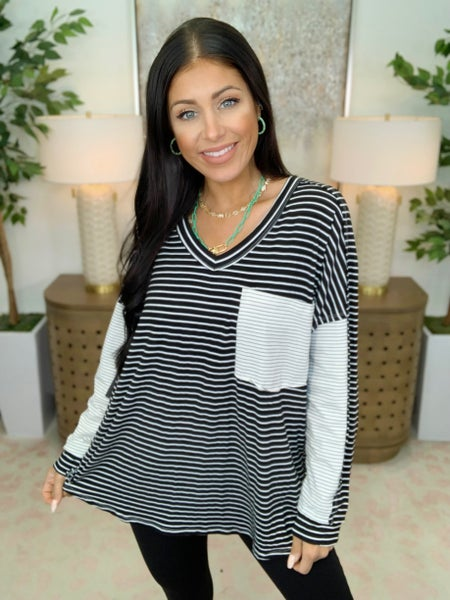 Stripes Of Life Top