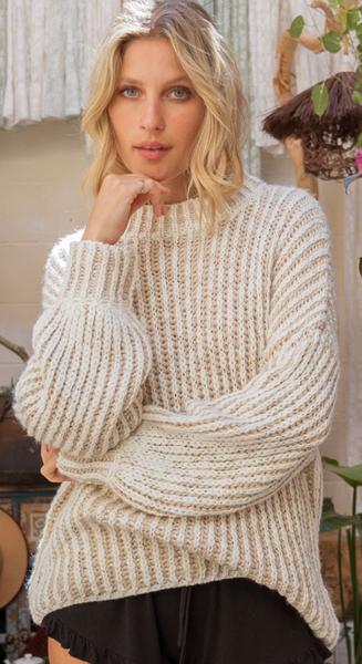 Depth & Precision Sweater