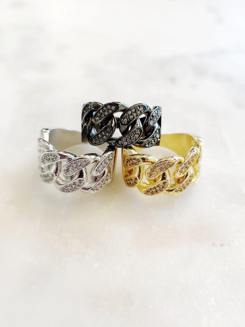 Melania Clara Tiffany Ring - 3 Colors!