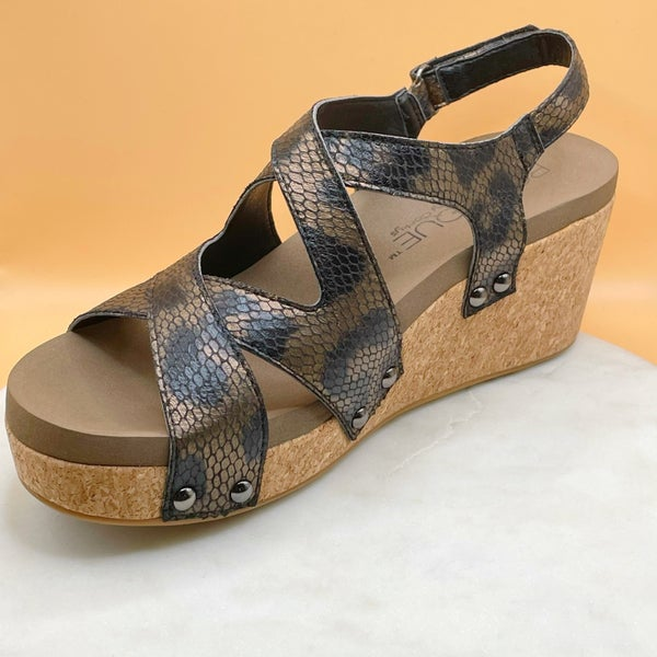 Corkys Shore Wedge- 3 Colors!