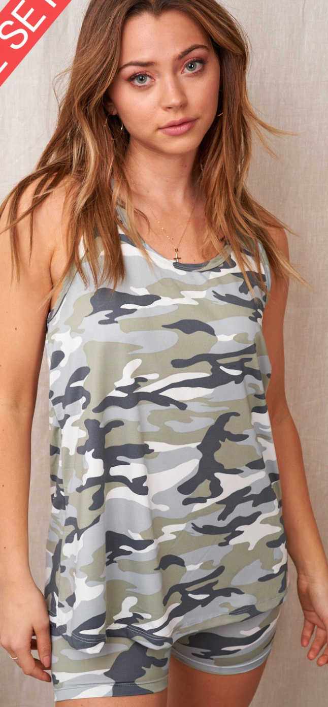 Camo Nights  Bottoms - 2 Colors!