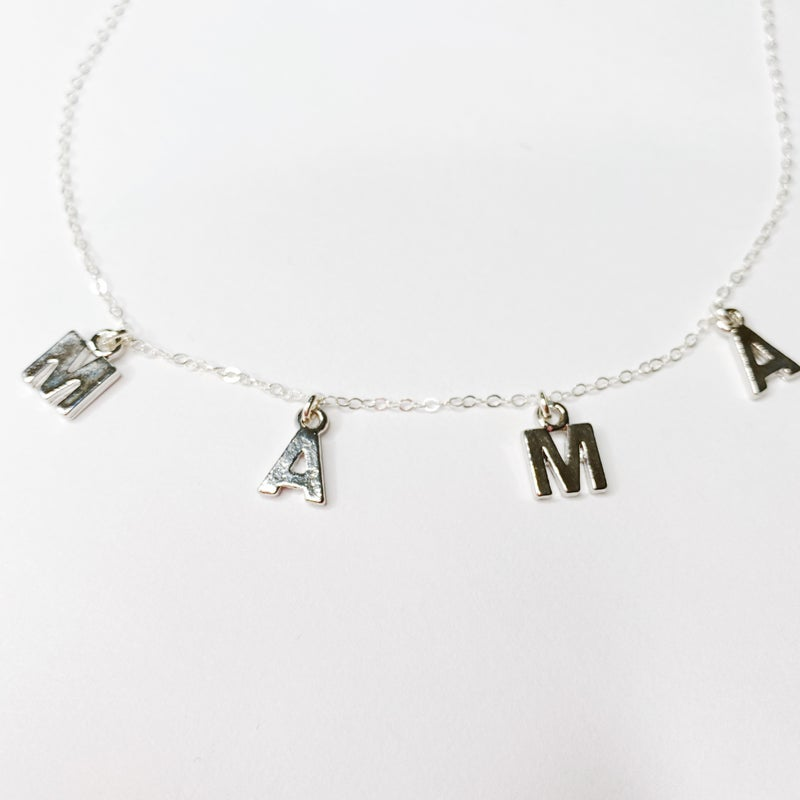 Mama Necklace - Silver Or Gold