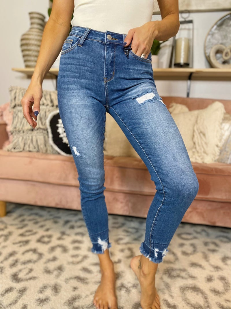 Judy Blue Make A Move Skinny Jeans
