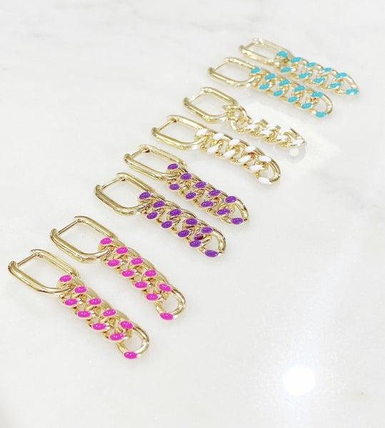 Melania Clara Savannah Earrings- 7 colors