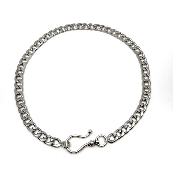 "16"" Delilah Chain  - Silver"