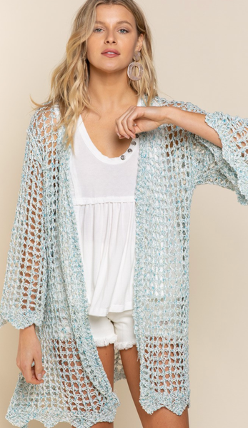 Turn The Lights Down Low Cardigan- 2 Colors!