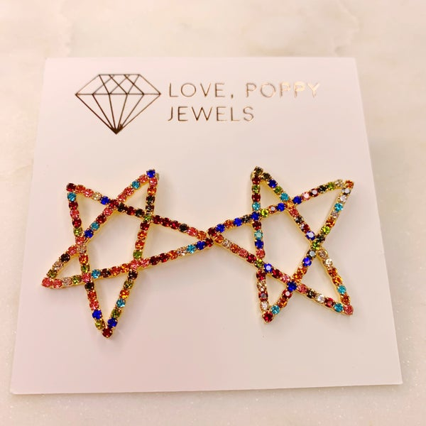 Love Poppy Big Star Stud