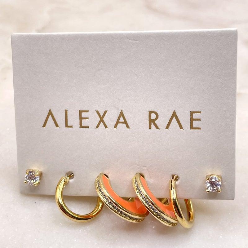 By Alexa Rae Cece Earring Set - 5 Colors!