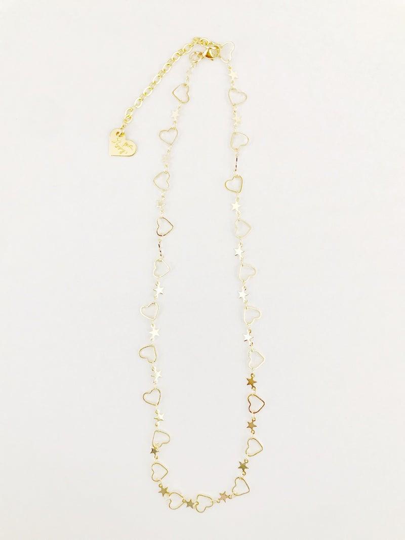 Love Poppy Stars & Lovers Necklace
