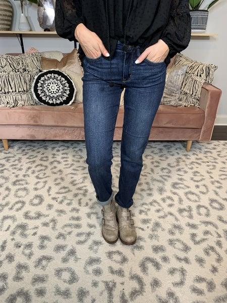 The 'Jessie' Judy Blue Tapered Slim Fit Jean