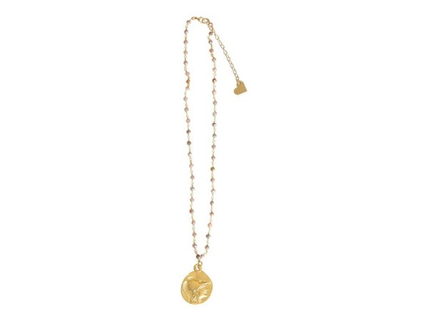Rosary Coin Necklace