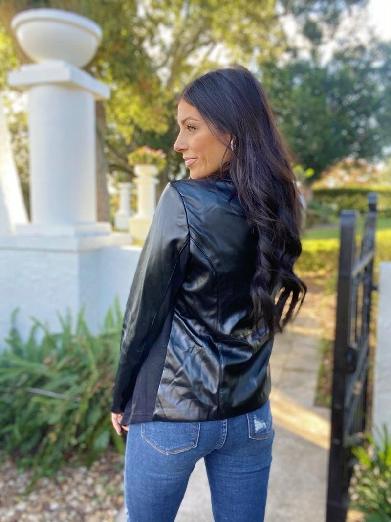 Leather Weather Jacket