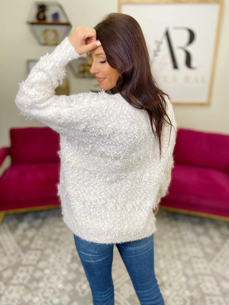 Let It Snow Sweater  - 2 Colors!