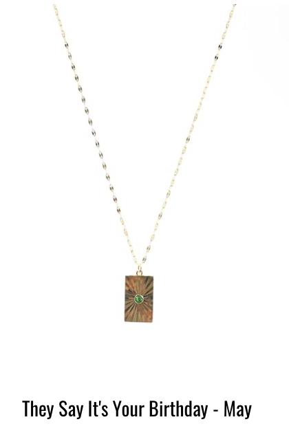 BB Lila Birthstone Necklace