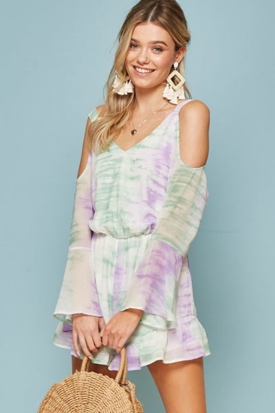 Jumping Into Spring Romper