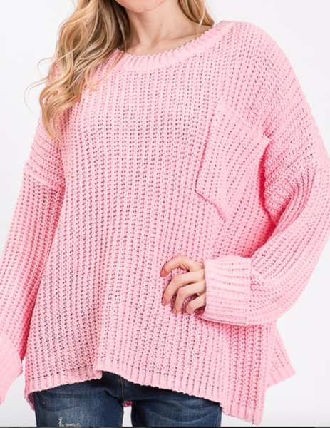 4 Colors! Lets Snuggle Sweater