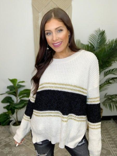 Forward Thinking Sweater
