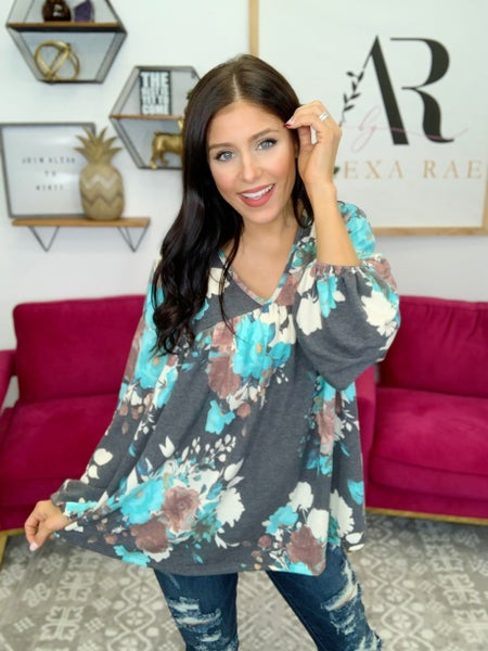 Floral Passions Top