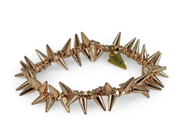 Erimish Rose Gold Spike Bracelet