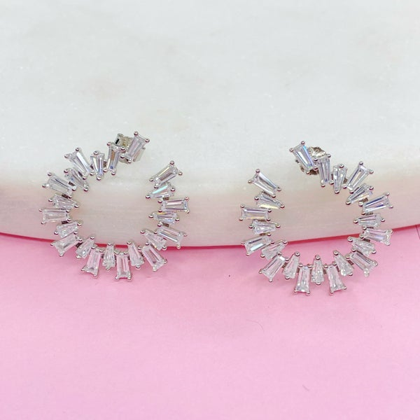 Baguette C Earrings