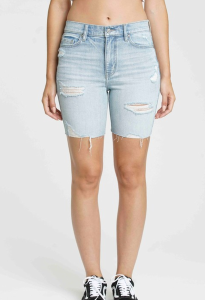 Kailey High Rise Mid Shorts