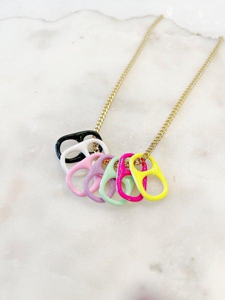 By Alexa Rae Soda Moda Necklace - Silver & Gold