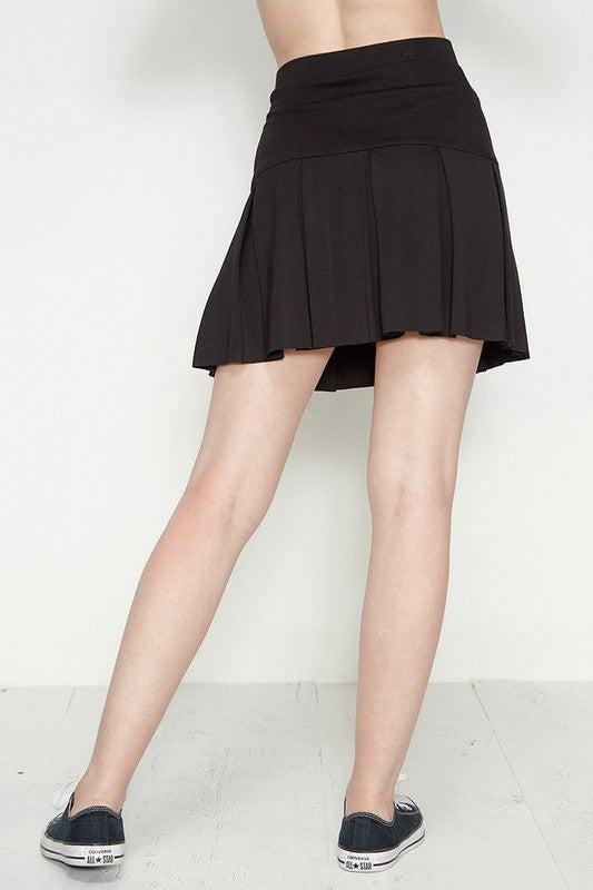 Take Me Tennis Mini Skirt-2 Colors