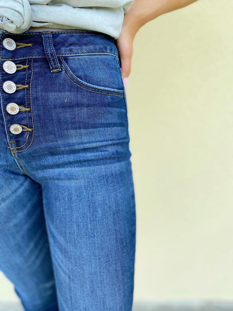 Kancan Roxy Jeans - Dark Denim