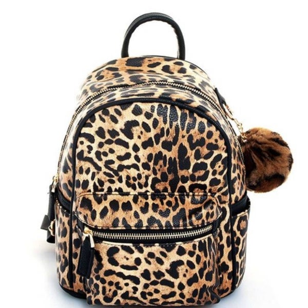 Snake Skin Mini Backpack