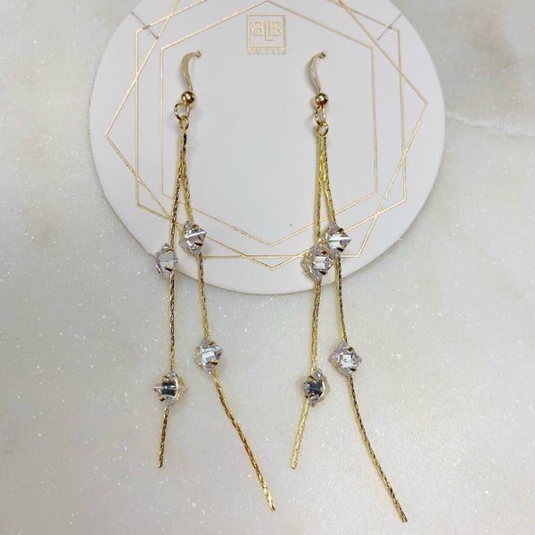 BB Lila Made For You Crystal Earrings