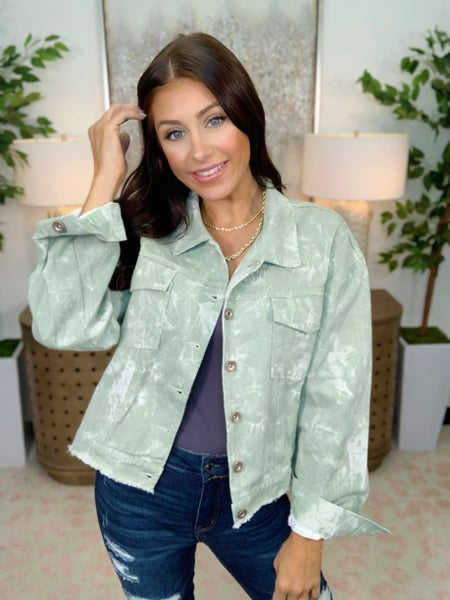 Marble Jacket - 2 Colors!