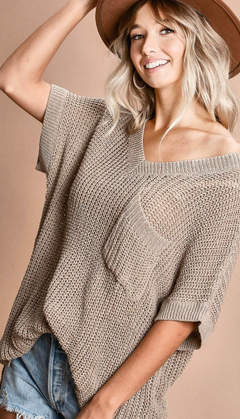 This Knit Is Insane Top - 2 Colors!