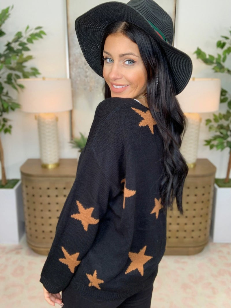 Star Power Sweater - 2 Colors!