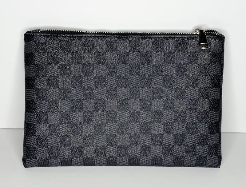 Checker Makeup Cosmetic Pouch - 2 Colors!