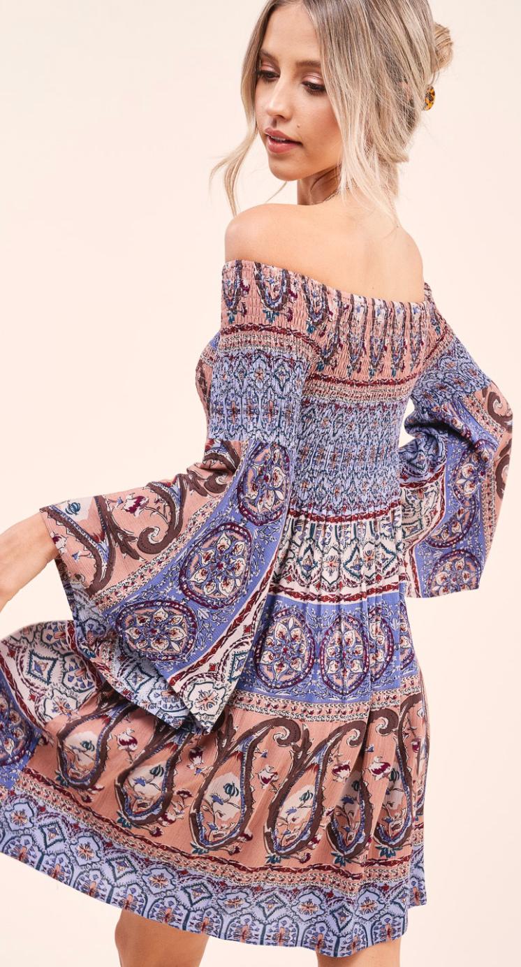 The Darline Mini Dress - 2 Colors!