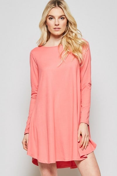 Easy Everyday Knit Shift Dress