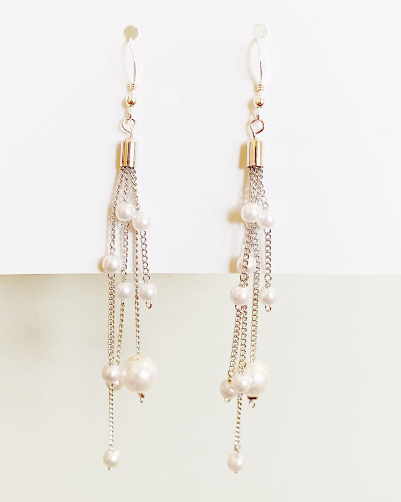 Pearl Bubble Earrings