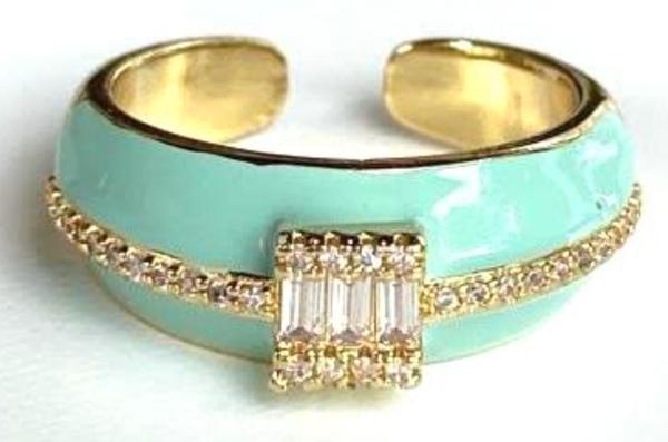 Melania Clara Polly Ring - 2 Colors!