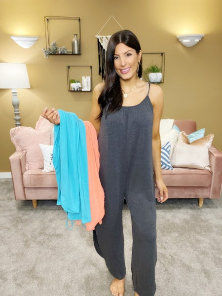 Walkin' Tall Jumpsuit - 3 Colors!