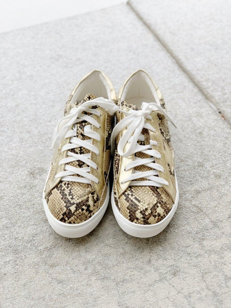 Shining Star Snake Sneaker