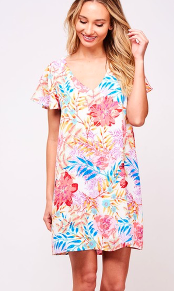 Dreaming Of A Malibu Getaway Dress