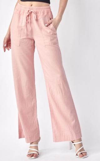 Risen For Love And Linen Wide Leg Pants - 4 Colors!
