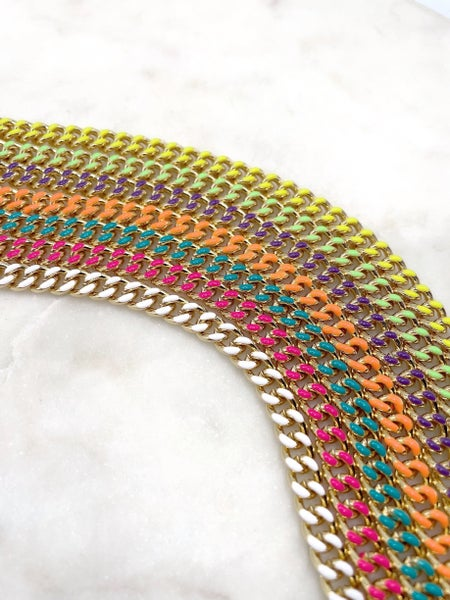 Melania Clara Savannah Necklace - 7 Colors