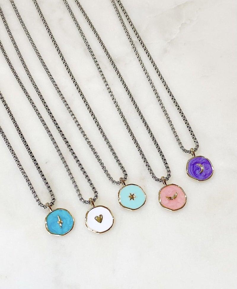 Melania Clara Eden Necklace - 5 Colors