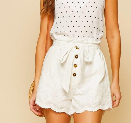 2 Colors! Kasey Lace Shorts