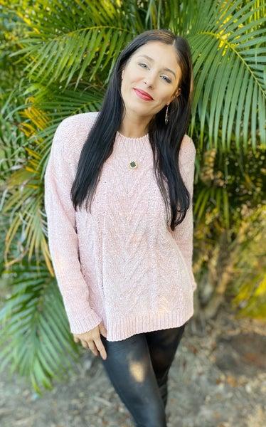 Heart Breaker Velvet Sweater