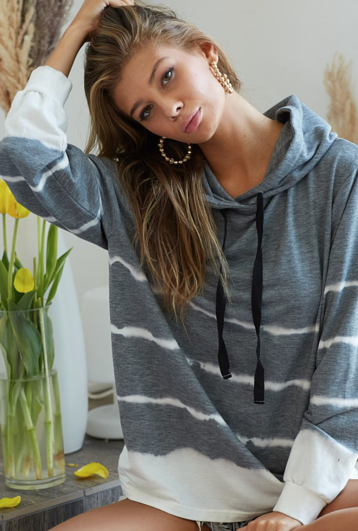 Lines In The Sand Hoodie - 2 Colors!