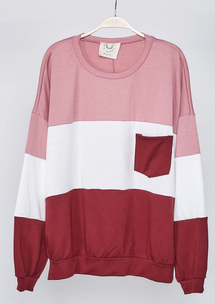 Janelle Sweatshirt - Pink