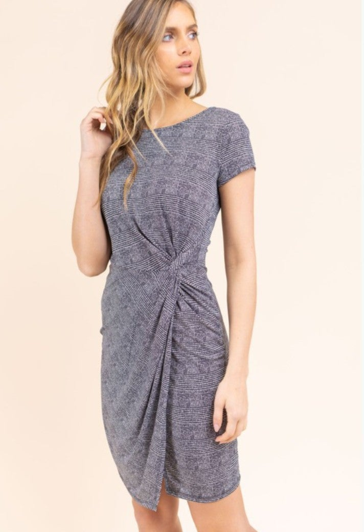 Pretty Woman Front Twist Dress